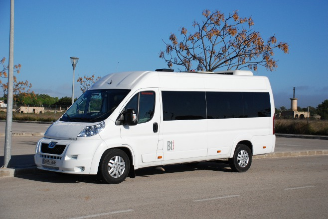 Mallorca taxis for 5, 6, 7 or 8 persons