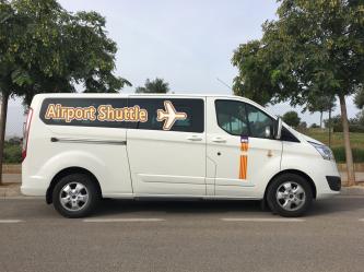 Taxi from Mallorca airport to Cala Mesquida